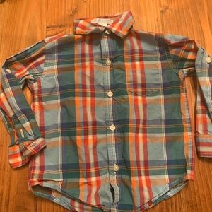 Janie and Jack collared button down size 18-24